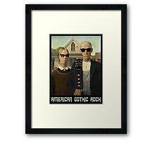 American Gothic Rock T Shirt Framed Print