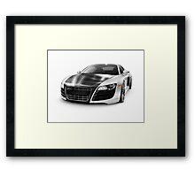 Audi Quattro R8 Turbo sports car art photo print Framed Print