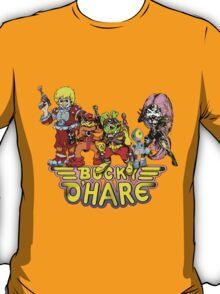 Bucky O'Hare - Group Logo - Color T-Shirt