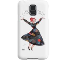 Miss Frizzle loves science Samsung Galaxy Case/Skin