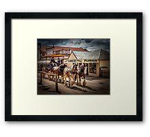 Sovereign Hill 1850 Framed Print