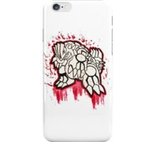 Epic Groudon Tshirts + More! iPhone Case/Skin