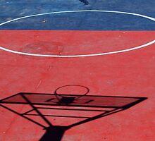 Shadow on a Basketball Court by rhamm