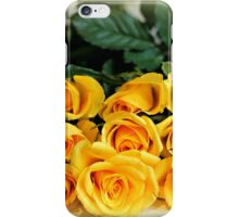 Yellow is for friendship iPhone Case/Skin