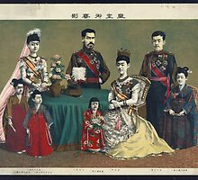 Portrait of Japanese Imperial Family, 1900 by PattyG4Life