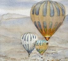 Hot air balloons Turkey Cappadocia id1270423 by Almondtree