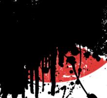 Godzilla 2014 Paint Splatter Design Sticker