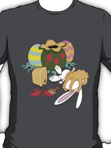 Easter Bunny Alien Egg Face Hugger Surprise T-Shirt