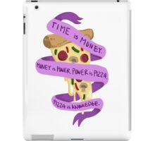 Pizza Is Knowledge iPad Case/Skin