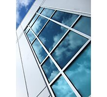 Reflections Of A Sunlit Sky Photographic Print