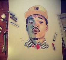 Chance the Rapper by Amma Fordjour