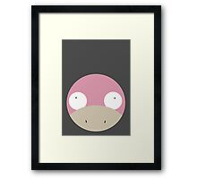 Slowpoke Ball Framed Print