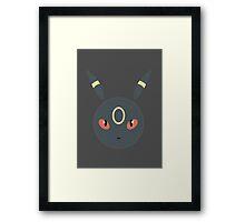 Umbreon Ball Framed Print
