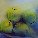Les Pommes Empilées by Deborah Pass