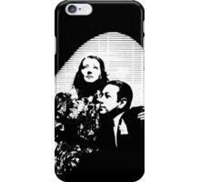 Sylvia Sidney And George Raft iPhone Case/Skin