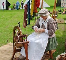 Re Enactment in Rhuthin North Wales UK by AnnDixon