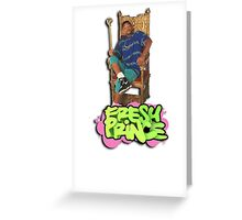 Fresh Prince of Bel Air Greeting Card