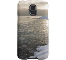 Mini Ice Floes on the Lake Samsung Galaxy Case/Skin