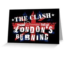 London's Burning Greeting Card