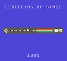 Commodore 64 Levelling (blue) by SquareDog