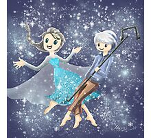 Elsa and Jack Frost Photographic Print