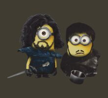 Jon Snow and Sam Tarly Minions  by minionsaddict