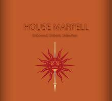 """Unbowed, Unbent, Unbroken"" - House Martell by xipher"