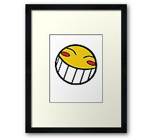 Cowboy Bebop Radical Ed Smiley Face Framed Print