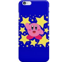 Kirby in the stars iPhone Case/Skin