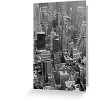 NYC II - B&W Greeting Card