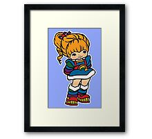Rainbow Brite [ iPad / iPhone / iPod case, Tshirt & Print ] Framed Print