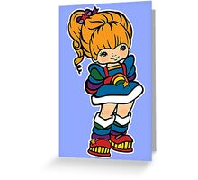 Rainbow Brite [ iPad / iPhone / iPod case, Tshirt & Print ] Greeting Card