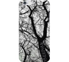 """Bare Naked Trees in Winter"" iPhone Case/Skin"