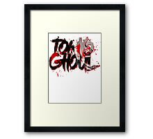TOKYO GHOUL - BLOOD STAINED LEGACY Framed Print