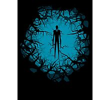 SlenderMan! Photographic Print