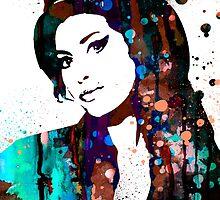 Amy Winehouse by Watercolorsart