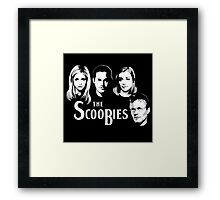 The Scoobies  Framed Print