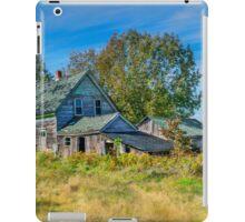Abandoned House, Wentworth Valley, Nova Scotia iPad Case/Skin