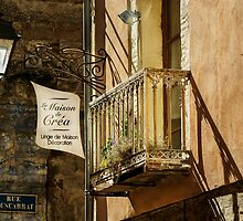 Shop Balcony by TonyPriestley