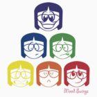 Mood Swings - Geek Colors by EsJayDesigns
