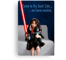 Sci Fi Girl Gone Bad Canvas Print