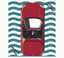 Honda Delsol Towel inspired - Milano Red Kids Clothes