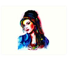 """""""My colors for Amy"""" Art Print"""