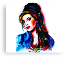 """""""My colors for Amy"""" Canvas Print"""