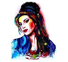 """My colors for Amy"" Photographic Print"