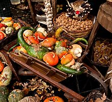 In the Autumn Market by Rae Tucker