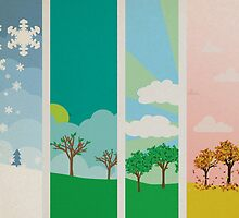 all four seasons by chicamarsh1
