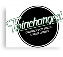 Twincharged - Owning you since green lights Canvas Print