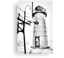 The Lighthouse of South Haven Canvas Print