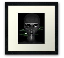 GRAYS Framed Print